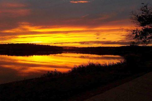 Horn Pond Sunset